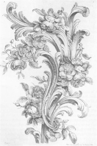 Rococo Decorative Designs By Peyrotte Med On Laid Jaques Gabriel